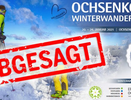 Absage Ochsenkopf Winterwandertage 2021