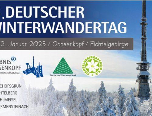 Um ein Jahr verschoben – Region plant jetzt Programm für den 5. Deutschen Winterwandertag 2023
