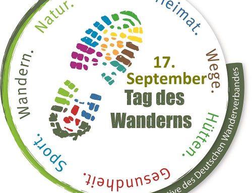 Tag des Wanderns am 17. September 2021