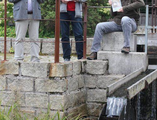 Wasser vom Dach Europas